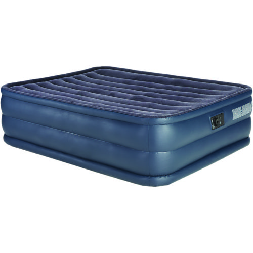 INTEX® Raised Downy Queen Airbed with Built-In AC Pump