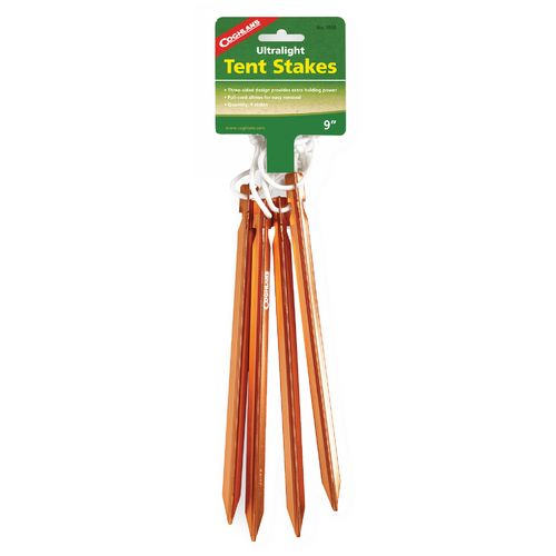 Display product reviews for Coghlan's Ultralight Tent Stakes 4-Pack