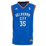 adidas Boys' Oklahoma City Thunder Revolution 30 Kevin Durant Replica Road Jersey