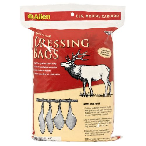 Display product reviews for Allen Company Big Game Dressing Bags 4-Pack