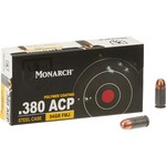 Monarch Auto FMJ .380 94-Grain Centerfire Ammunition