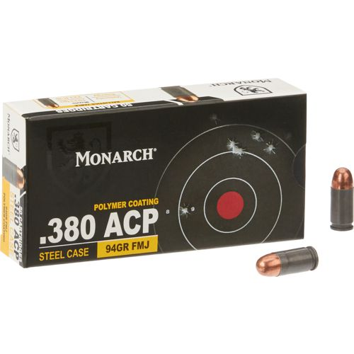 Monarch® Auto FMJ .380 94-Grain Centerfire Ammunition