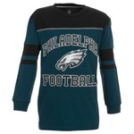 Reebok Boys' Philadelphia Eagles Power Sweep Long Sleeve T-shirt