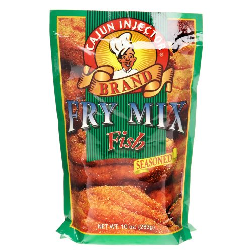 Cajun Injector 10 oz. Seasoned Fish Fry Mix