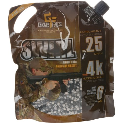 Game Face .25-Gram Airsoft Ammunition 4,000-Pack