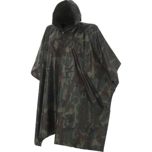 Game Winner Kids' Woodland Camo Poncho