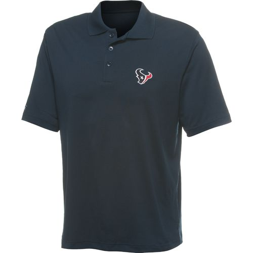 Antigua Men's Houston Texans Piqué Xtra-Lite Polo Shirt