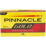 Pinnacle Gold Yellow Golf Balls 15-Pack