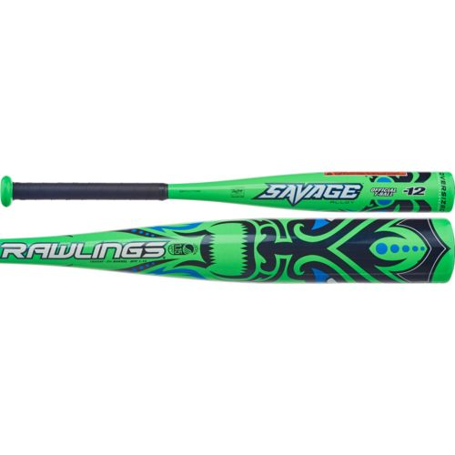 Rawlings Youth Savage Aluminum T-Ball Bat -12