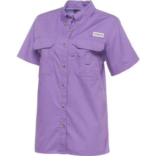 Magellan outdoors women 39 s lake fork short sleeve fishing for Magellan fishing shirts