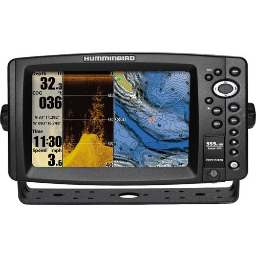 Humminbird 959ci hd di fishfinder gps combo with cover for Academy fish finder