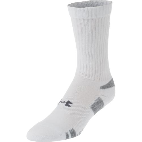 Display product reviews for Under Armour Adults' HeatGear Crew Socks 3 Pack