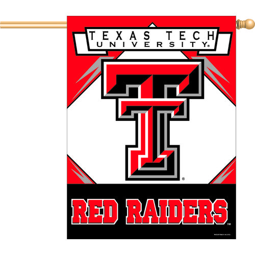 WinCraft Texas Tech University Vertical Flag