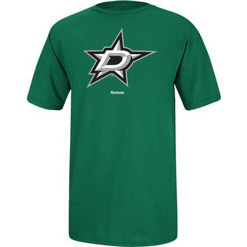 Reebok Men's Dallas Stars Jersey Crest T-shirt