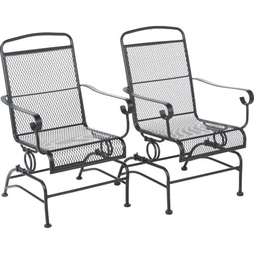 Display product reviews for Mosaic Steel Mesh Spring Rocker Set