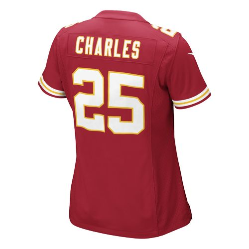 Nike Women's Kansas City Chiefs Jamaal Charles 25 Replica Game Jersey