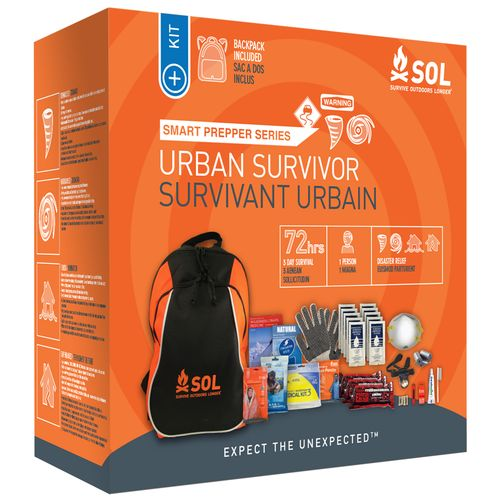 SOL Smart Prepper Series Urban Survivor Backpack