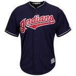 Majestic Men's Cleveland Indians Cool Base® Replica Jersey - view number 1