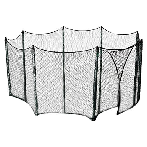 Upper Bounce® Universal Trampoline Net for Frames Up to 13' with Straight-Pole Enclosure Sy