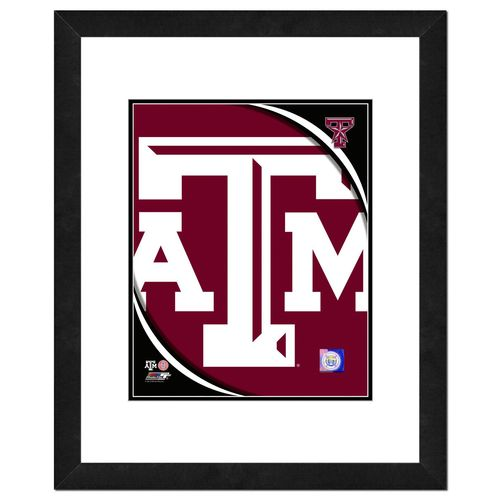 "Photo File Texas A&M University 8"" x 10"" Team Logo Photo"
