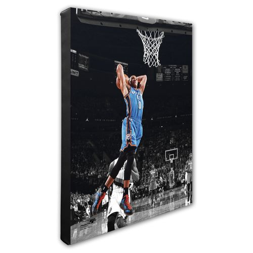 Photo File Oklahoma City Thunder Russell Westbrook 8' x 10' Spotlight Action Photo