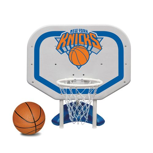 Poolmaster® New York Knicks Pro Rebounder Style Poolside Basketball Game