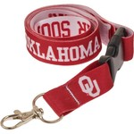 "WinCraft University of Oklahoma 3/4"" Lanyard with Detachable Buckle"