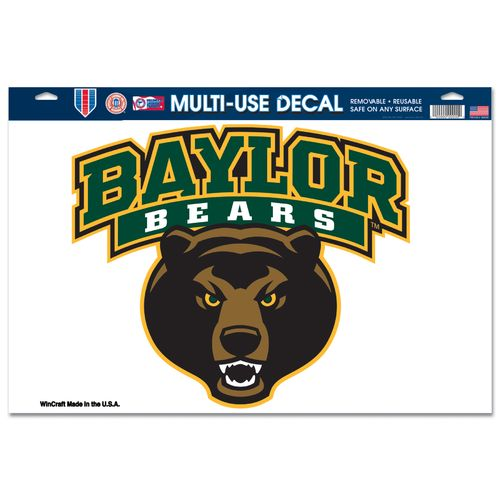 WinCraft Baylor University Multiuse Decal