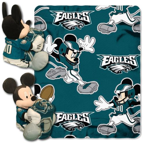 The Northwest Company Philadelphia Eagles Mickey Mouse Hugger