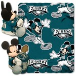 The Northwest Company Philadelphia Eagles Mickey Mouse Hugger and Fleece Throw Set