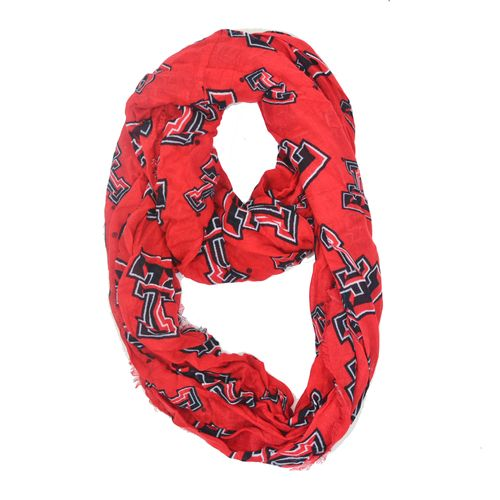 ZooZatz Women's Texas Tech University Logo Infinity Scarf