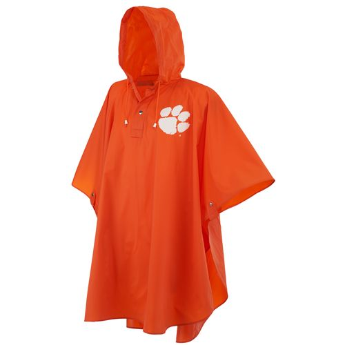 Storm Duds Adults' Clemson University Heavy-Duty Rain Poncho