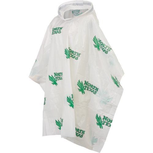 Storm Duds Men's University of North Texas Lightweight Stadium Poncho - view number 1
