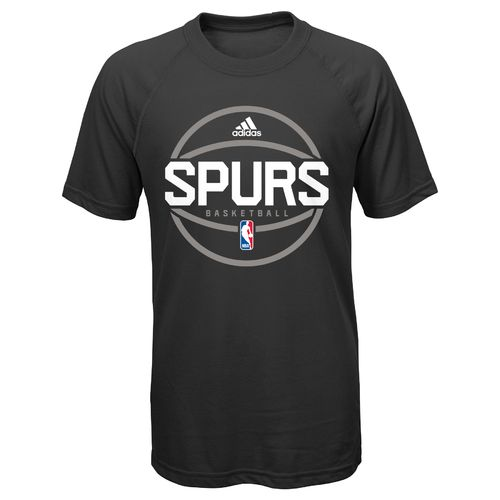 NBA Boys' San Antonio Spurs On Court Practice Wear Basketball T-shirt