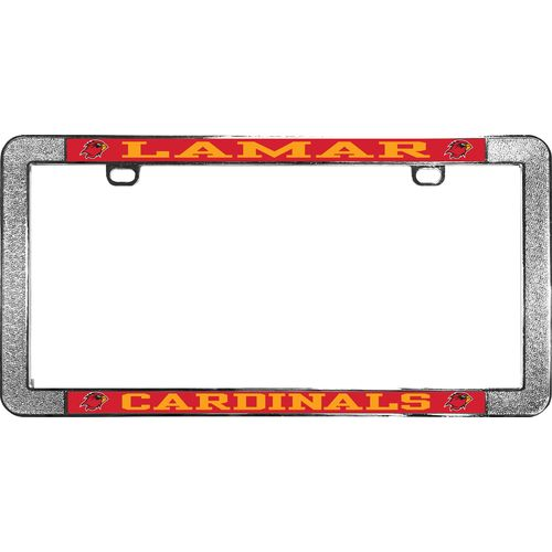 Stockdale Lamar University Thin-Rim License Plate Frame