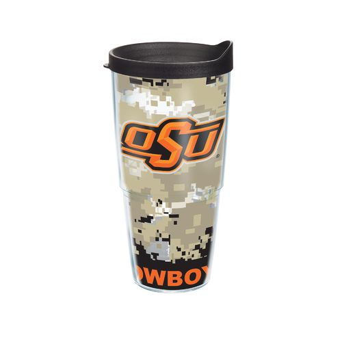 Tervis Oklahoma State University Digital Camo 24 oz. Tumbler with Lid