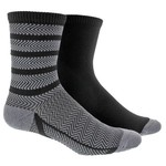 adidas™ Women's Studio No-Show Socks 2-Pair