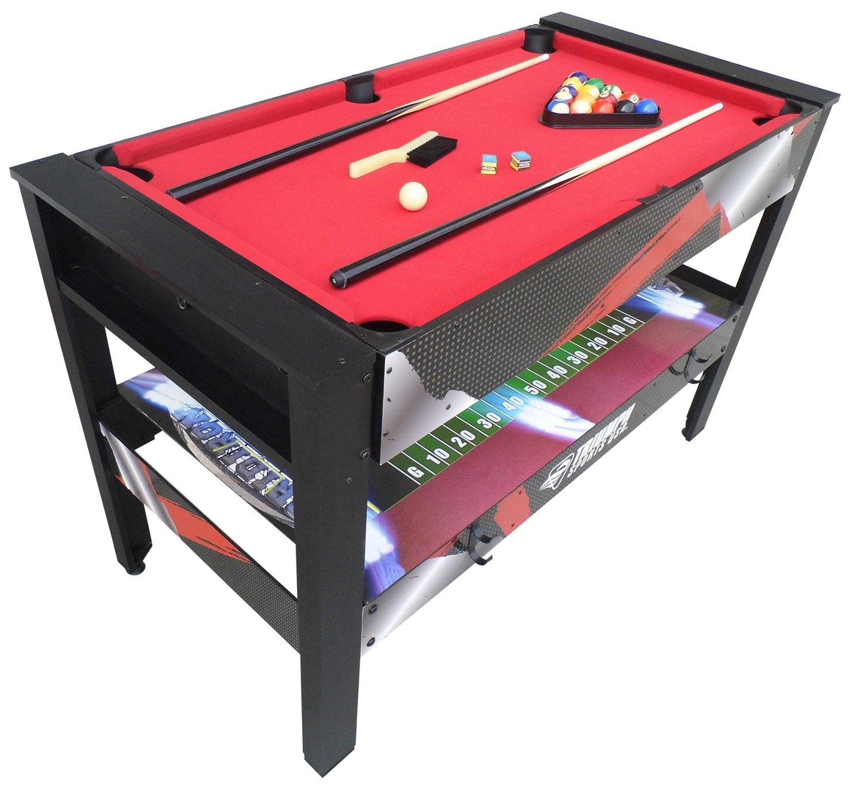 "Pool Table Leg Levelers ... Fun > Combination Tables > Triumph Sports USA 48"" 4-in-1 Swivel Table"