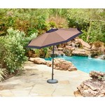 Mosaic 9' Round Steel Market Umbrella - view number 2
