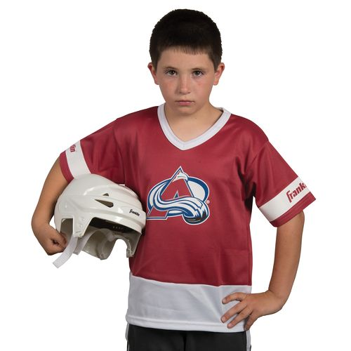 Franklin Kids' Colorado Avalanche Uniform Set - view number 2