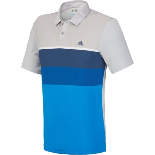 adidas™ Men's climacool® Engineered Stripe Polo Shirt