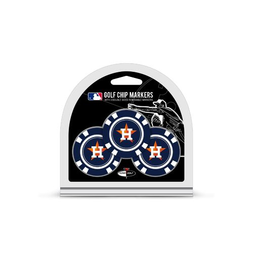 Team Golf Houston Astros Poker Chip and Golf Ball Marker Set