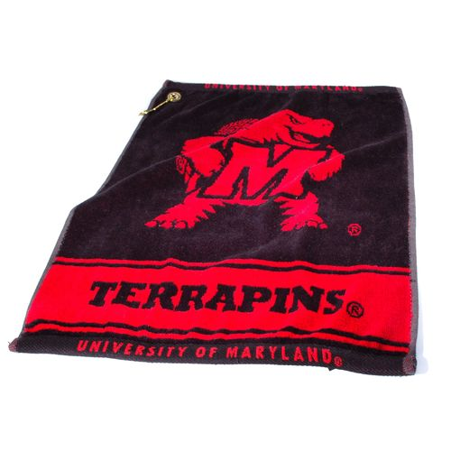 Team Golf University of Maryland Woven Towel - view number 1