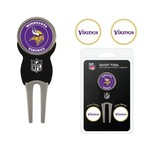 Team Golf Minnesota Vikings Divot Tool and Ball Marker Set - view number 1