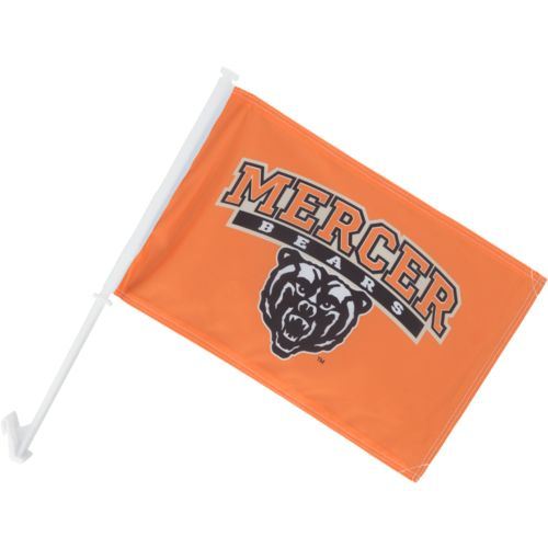 BSI Mercer University 2-Sided Car Flag
