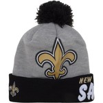 New Era Men's New Orleans Saints Solid Hit Knit Cap