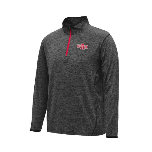Colosseum Athletics Men's Arkansas State University Action Pass 1/4 Zip Pullover