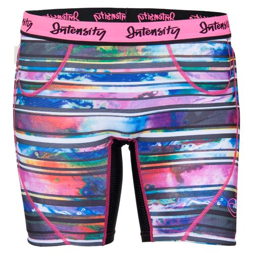 Intensity Girls' Stolen Base Low Rise Printed Slider Short