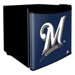 Boelter Brands Milwaukee Brewers 1.7 cu. ft. Dorm Room Refrigerator