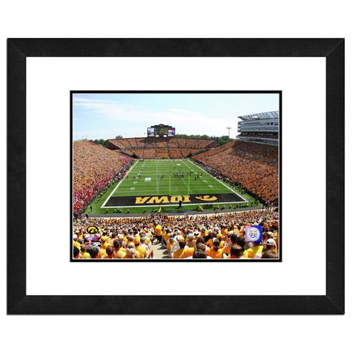 Photo File University of Iowa Stadium 16' x 20' Matted and Framed Photo